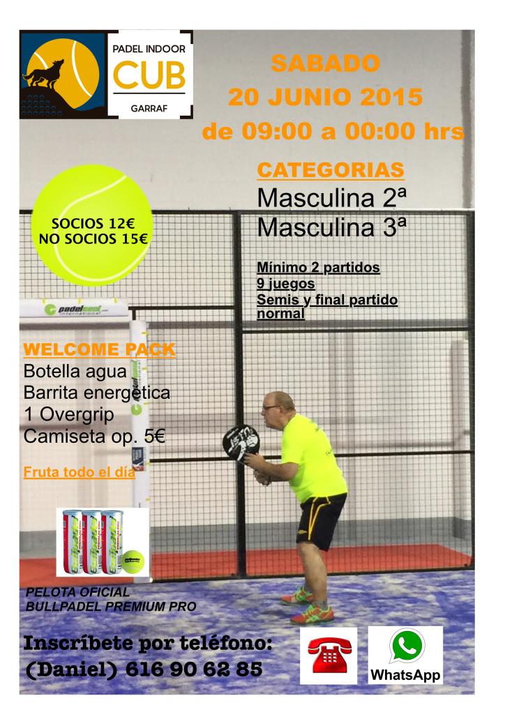TORNEO MASCULINO 2ª Y 3ª